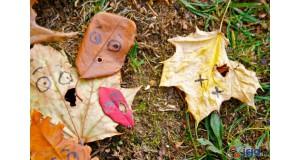 Przestraszone liście