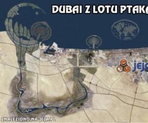 Dubai z lotu ptaka