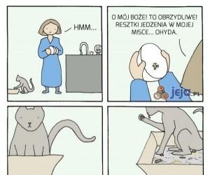 Właściciele kotów tak już mają