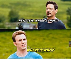 Gdzie jest Groot?