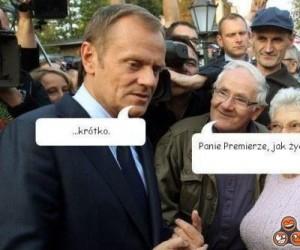W końcu Tusk odpowiedział na pytanie...