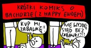 Krótki komiks o bachorze