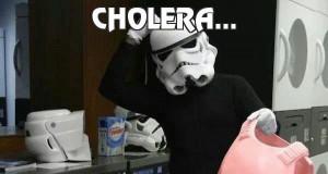 Cholera...