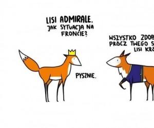 Nawet lisy potrafią być romantyczne