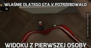Właśnie dlatego GTA V potrzebowało