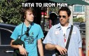 Tata to Iron Man, a syn jest fanem Batmana...