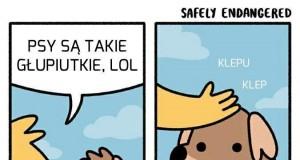 Biedny psiak...