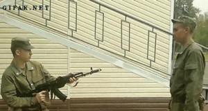 Rozbrojanie AK 74