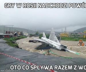 Gry w Rosji nadchodzi powódź...