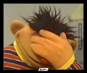 Ernie był załamany, gdy usłyszał