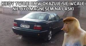 Tate, to BMW nie działa!