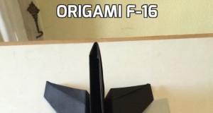 Origami F-16
