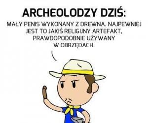 Pudło, panie archeolog!