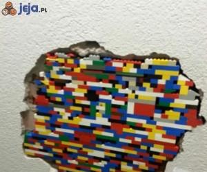 Ściana z Lego