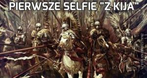"""Pierwsze selfie """"z kija"""""""