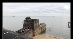 Tak wygląda koniec Wielkiego Muru Chińskiego
