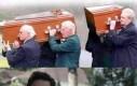 Czy to pogrzeb asystenta magika czy co?!