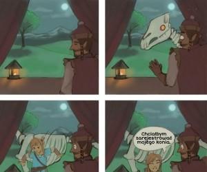 O, Zelda przyniósł konia