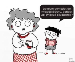 Dobry jogurt dla babci