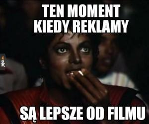 I na film nie starcza popcornu