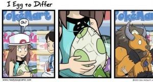 Rzeczywistość jajek w Pokemon Go