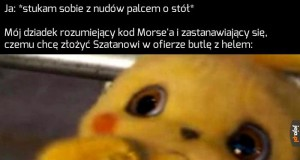 Co ten młody...?