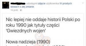 Historia Polski w tytułach Gwiezdnych Wojen