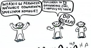 Komiks w negatywie
