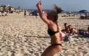 Skoki na plaży