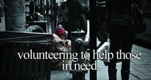 Pomaganie tym, którzy tego potrzebują