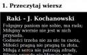 Kochanowski, Ty podstępny człowieku...