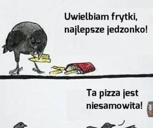 Frytki czy pizza?