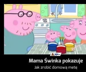 Mama Świnka pokazuje