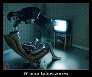 W erze telewizorów