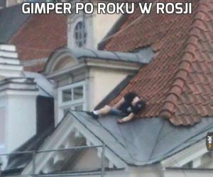Gimper po roku w Rosji
