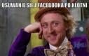 Usuwanie się z Facebooka po kłótni