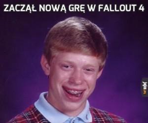Zaczął nową grę w Fallout 4