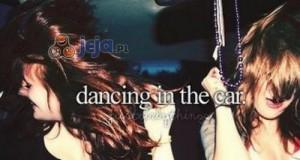 Tańczenie w samochodzie