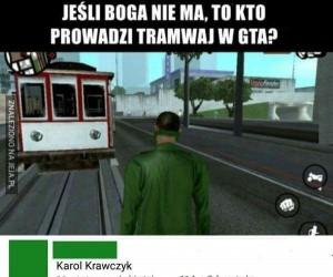 Kierowca tramwaju jest tylko jeden