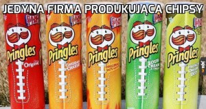 Jedyna firma produkująca chipsy