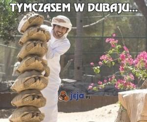 Tymczasem w Dubaju...