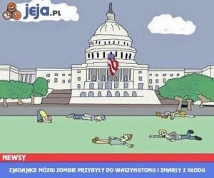 Zombie w Waszyngtonie