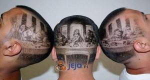 Da Vinci w roli fryzjera