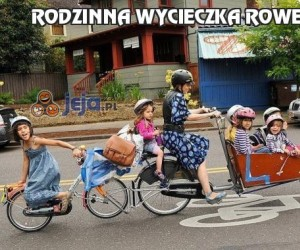 Rodzinna wycieczka rowerowa