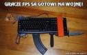 Gracze Fps są gotowi na wojnę!