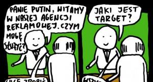 Putin w agencji