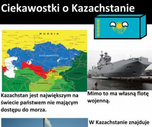 Ciekawostki o Kazachstanie