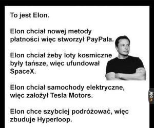 Bądź jak Elon