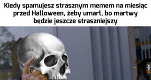 Przygotowania do święta szkieletów trwają