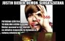 Justin Bieber: demon, sługa szatana
